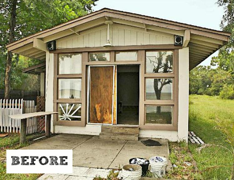 """""""破旧的小屋""""变成家庭海滨别墅"""