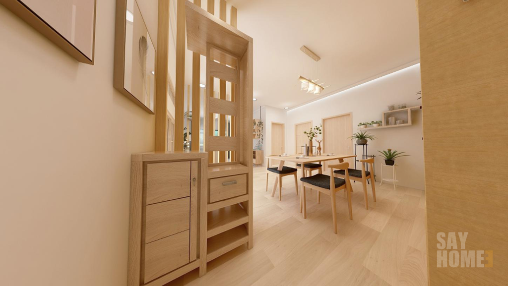 WOOD: A BREAHE OF FRESH AIR TO REVEAL WHAT LIFE IS REALLY ABOUT - 732sqft