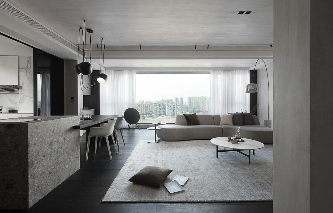 房屋装修中的空间设计-高级大地灰!