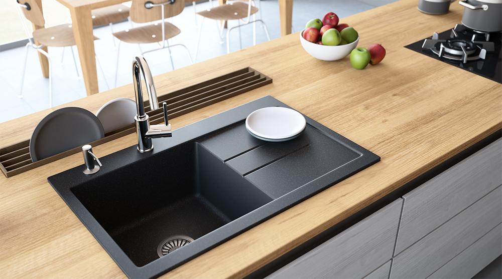 如何选择合适的厨房水槽