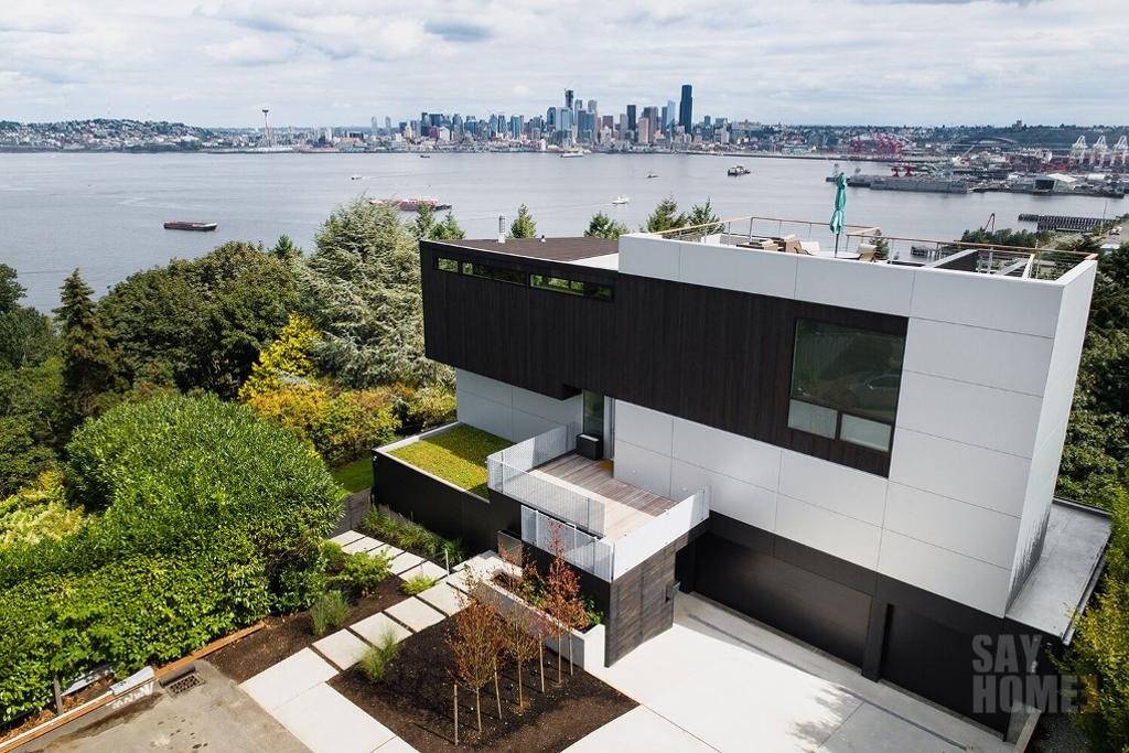 华盛顿西雅图 | 海景住宅